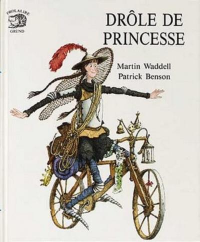 Couverture Drôle de princesse