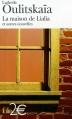 Couverture La maison de Lialia et autres nouvelles Editions Folio  (2 €) 2004