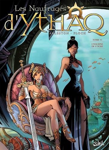 Couverture Les naufragés d'Ythaq, tome 11 : L'haleine de l'ogre
