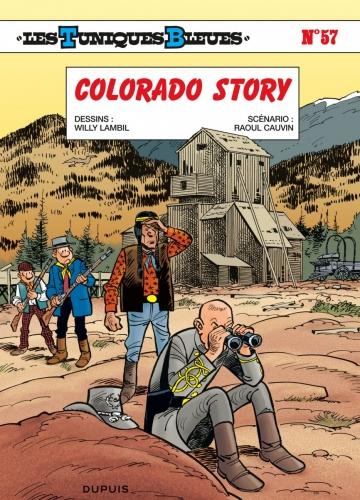 Couverture Les Tuniques Bleues, tome 57 : Colorado Story