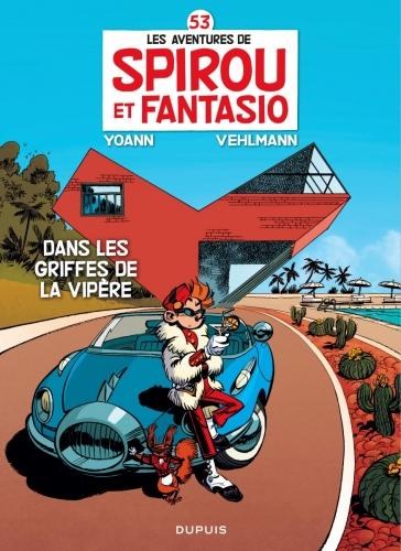 Couverture Spirou et Fantasio, tome 53 : Dans les griffes de la Vipère