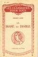 Couverture La mare au diable Editions Hatier (Les Classiques pour tous) 1942