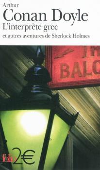 Couverture L'interprète grec et autres aventures de Sherlock Holmes