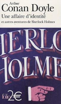 Couverture Une affaire d'identité et autres aventures de Sherlock Holmes