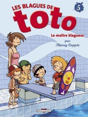 Couverture Les blagues de Toto, tome 05 : Le maître blagueur