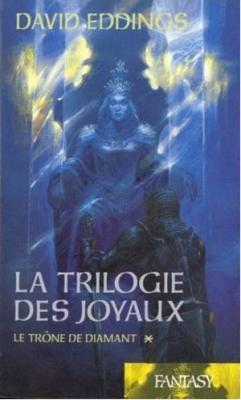 Couverture La trilogie des joyaux, tome 1 : Le trône de diamant