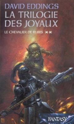 Couverture La trilogie des joyaux, tome 2 : Le chevalier de rubis