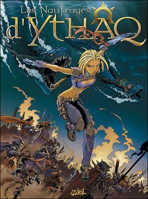 Couverture Les naufragés d'Ythaq, tome 01 : Terra Incognita