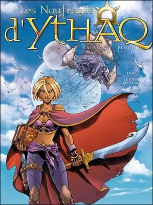 Couverture Les naufragés d'Ythaq, tome 03 : Le soupir des étoiles