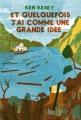 Couverture Et quelquefois j'ai comme une grande idée Editions Monsieur Toussaint Louverture 2013