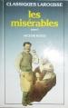 Couverture Les Misérables (6 tomes), tome 1 Editions Larousse 1984