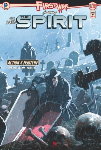 Couverture First Wave featuring The Spirit, tome 2