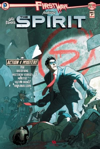 Couverture First Wave featuring The Spirit, tome 3