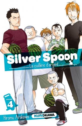 Couverture Silver spoon : La cuillère d'argent, tome 04