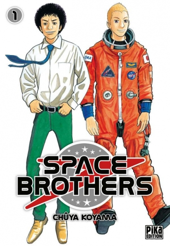 Couverture Space brothers, tome 01