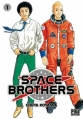 Couverture Space brothers, tome 01 Editions Pika 2013