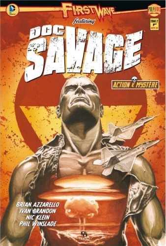 Couverture First Wave featuring Doc Savage, tome 2