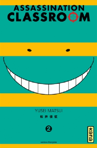 Couverture Assassination classroom, tome 02