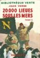 Couverture 20 000 lieues sous les mers / Vingt mille lieues sous les mers, tome 2 Editions Hachette (Bibliothèque verte) 1952