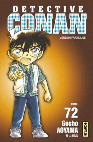 Couverture Détective Conan, tome 72