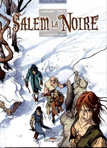 Couverture Salem la Noire, tome 2 : Le diadème des âmes