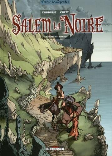 Couverture Salem la Noire, tome 3 : Tongeren et Finicho