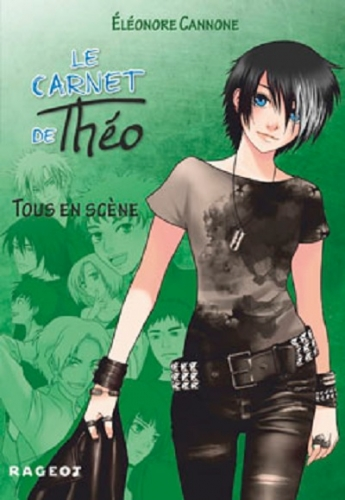Couverture Le carnet de Théo, tome 3 : Tous en scène