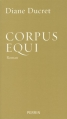 Couverture Corpus Equi Editions Perrin 2013