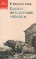 Couverture Discours de la servitude volontaire Editions Librio (Philosophie) 2013