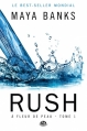 Couverture À fleur de peau, tome 1 : Rush Editions Milady (Romantica) 2013
