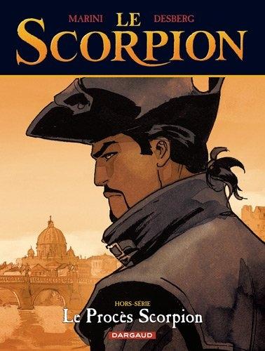 Couverture Le Scorpion, hors-série : Le procès scorpion