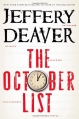 Couverture The october list Editions Grand Central Publishing 2013