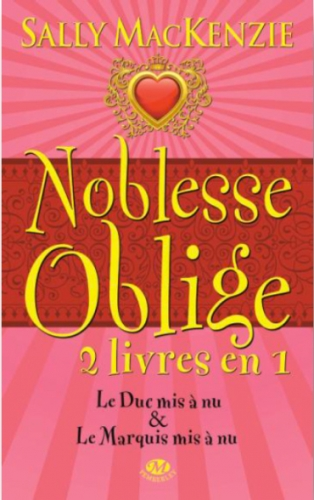 Couverture Noblesse Oblige, intégrale, tome 1