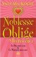 Couverture Noblesse Oblige, intégrale, tome 1 Editions Milady 2013