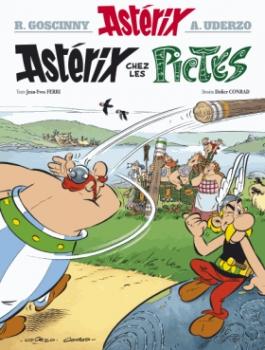 Couverture Astérix, tome 35 : Astérix chez les Pictes
