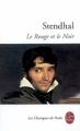 Couverture Le rouge et le noir Editions Le Livre de Poche (Les classiques de poche) 2013