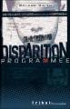 Couverture Disparition programmée Editions Flammarion (Tribal) 2003