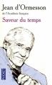 Couverture Saveur du temps Editions Pocket 2010