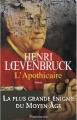 Couverture L'Apothicaire Editions Flammarion 2012