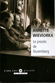 Couverture Le procès de Nuremberg