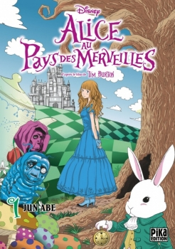 Couverture Alice au pays des merveilles (manga), tome 1