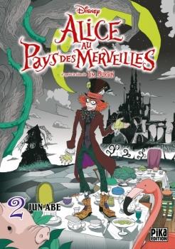 Couverture Alice au pays des merveilles (manga), tome 2