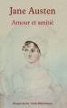 Couverture Amour et amitié Editions Rivages (Poche - Petite bibliothèque) 2013