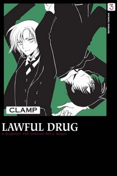 Couverture Lawful drug, tome 3
