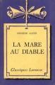 Couverture La mare au diable Editions Larousse (Classiques) 1934