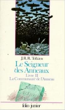 Couverture Le Seigneur des Anneaux (6 tomes), tome 1 : La Communauté de l'anneau, partie 2