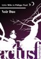 Couverture Noir Duo Editions ActuSF 2013