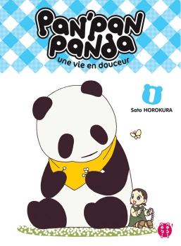 Couverture Pan'Pan Panda : Une vie en douceur, tome 1