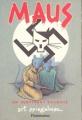 Couverture Maus, un survivant raconte, tome 1 : Mon père saigne l'histoire Editions Flammarion 1987