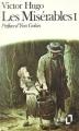 Couverture Les Misérables (2 tomes), tome 1 Editions Folio  1973